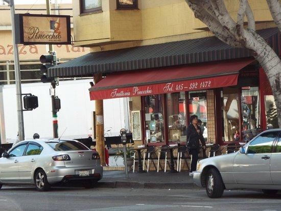 Trattoria Pinocchio : Worth choosing  among the many nearby Italian restaurants.