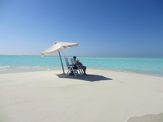 Happy Life Maldives Lodge: Sandbank2