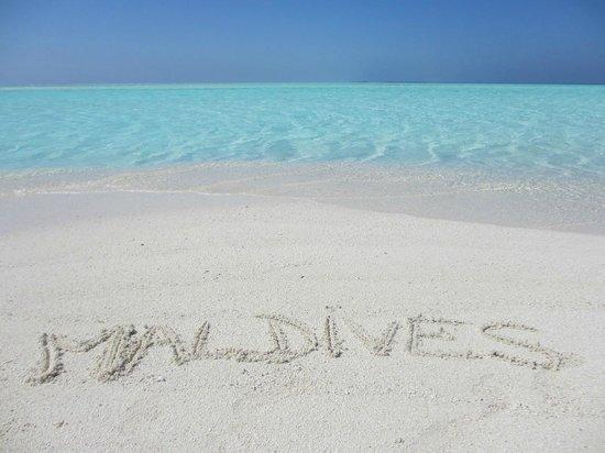 Happy Life Maldives Lodge : Beach Happylife 1