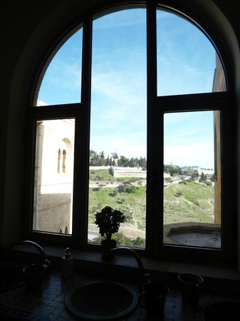 Mount Zion Hotel : View from window across from the elevators