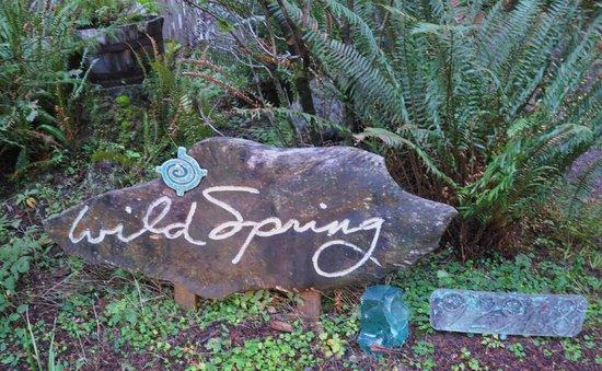 WildSpring Guest Habitat : Wild Spring Sign