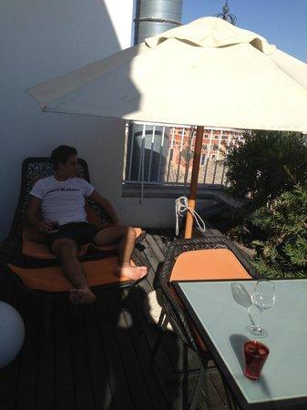 Gran Melia Colon: terraza