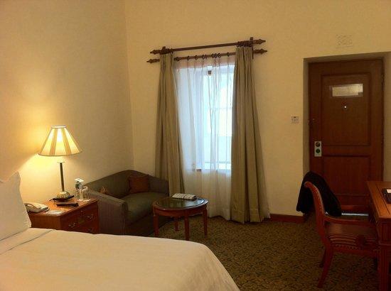 Maidens Hotel: Room 209 toward the door.
