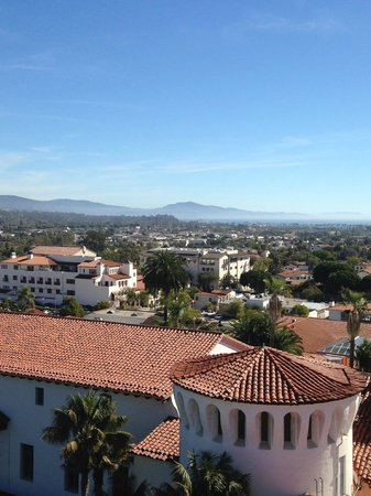 The Eagle Inn: Santa Barbara skyline