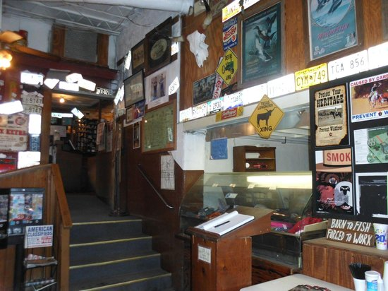 The Meers Store And Restaurant: Inside