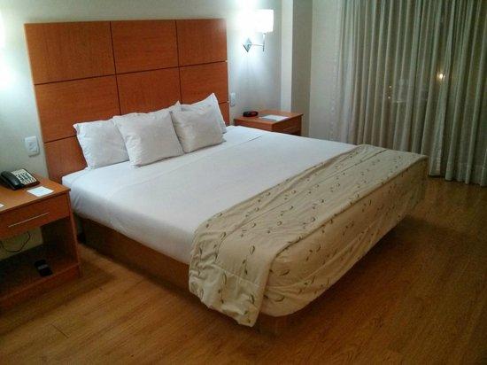 Eco Inn Cusco : ベッド