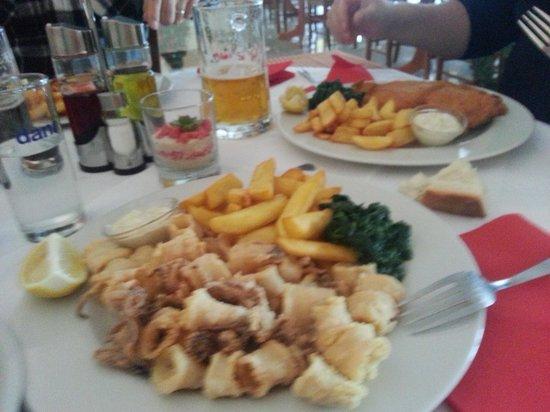 Gostilna Sergij: Calamari fritti