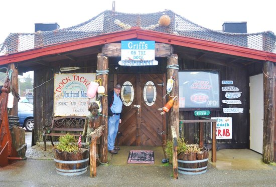 Griff's On The Dock : Our only choice in town!