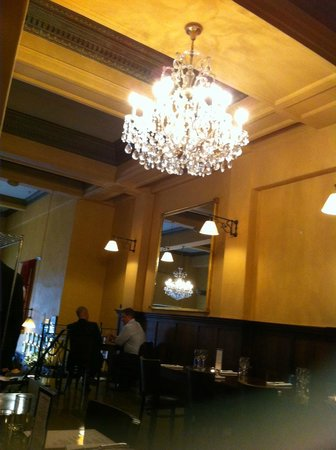 Pravda Cafe: Interior