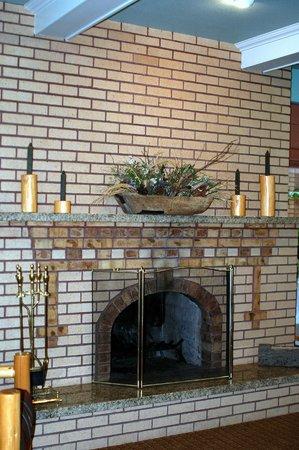 BEST WESTERN PLUS Plaza Hotel: Original fireplace