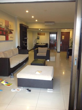Sanur Paradise Plaza Suites : 3 bedroom apartment