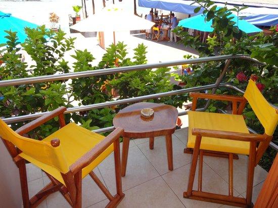 Hotel Solymar : Balcony off room