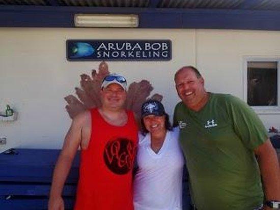 Aruba Bob Snorkeling: Our perfect host