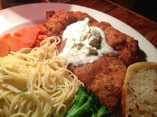 Ned's Southside Kitchen: Flounder Romano- special of the week