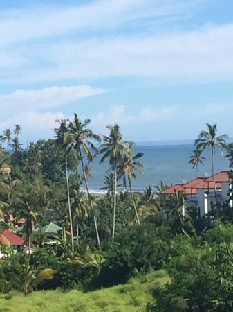 Istana Balian : the view from room 2 of the loft