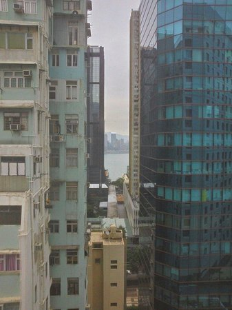 Novotel Century Hong Kong: The little seaview from room.
