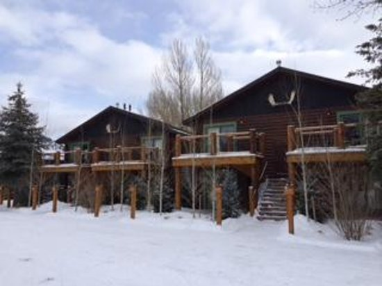 Rustic Inn Creekside Resort and Spa at Jackson Hole: 4 Room cabins