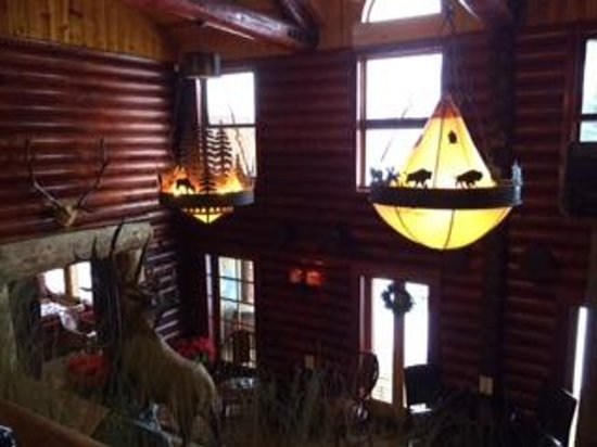 Rustic Inn Creekside Resort and Spa at Jackson Hole: Dining area