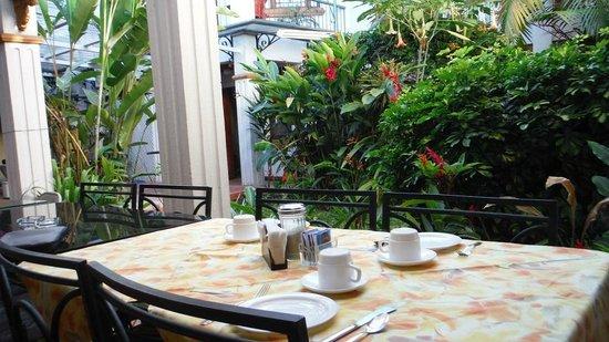 La Rosa del Paseo: Breakfast area