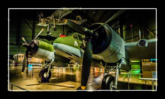 National Museum of the U.S. Air Force: Night Mare, Bristol Beaufighter.