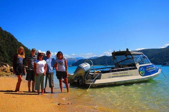 Abel Tasman Eco Tours: It was a wonderful day!