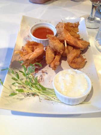 Lemon Leaf Cafe: Buffalo Shrimp Appetizer