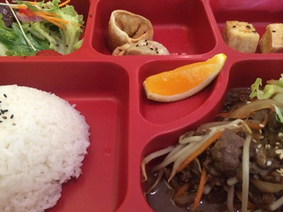 Goshen: Beef lunch box
