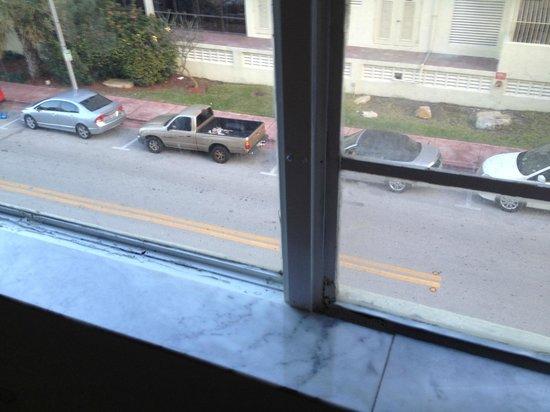 Lexington Hotel - Miami Beach: Great view.