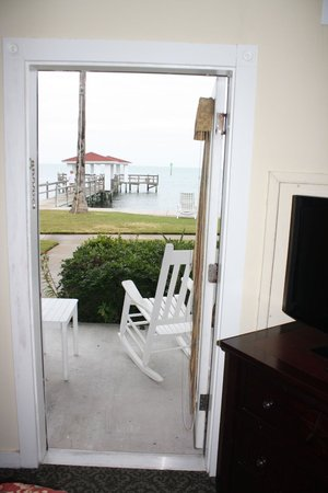Lighthouse Inn at Aransas Bay : View from bedroom