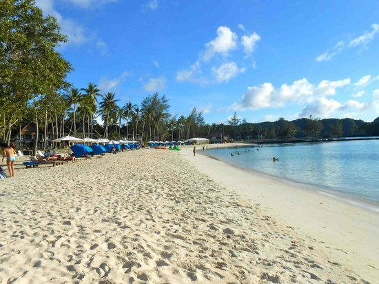 Palau Pacific Resort: the beach