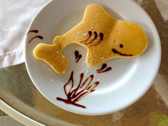 Palau Pacific Resort : baby shark pancake
