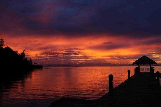 Palau Pacific Resort : sunset