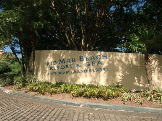 Wyndham Grand Rio Mar Beach Resort & Spa: entrance