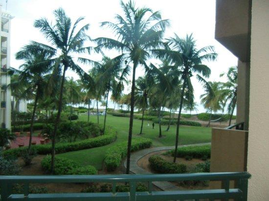 Wyndham Grand Rio Mar Beach Resort & Spa: Ocean View Suite Balcony & View