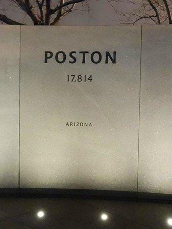 National Japanese American Memorial: Poston (where mom's family was sent)