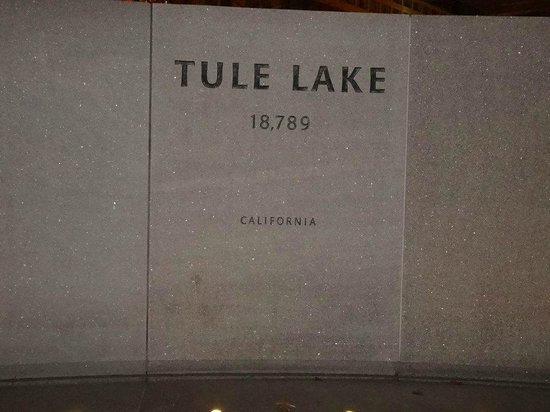 National Japanese American Memorial : Tule Lake (where dad's family was sent after Manzanar)
