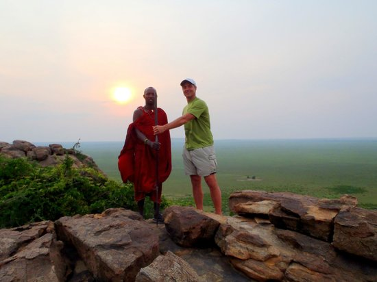 Olduvai Camp: Take the sunset walk over the Serengeti with a Masai guide.