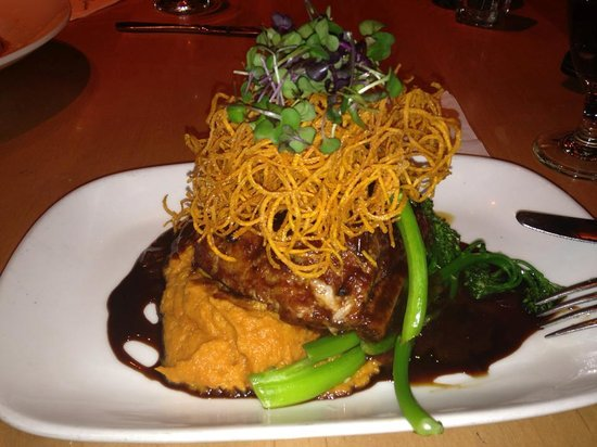 Rustic Kitchen Park Square: pork with sweet potatoes