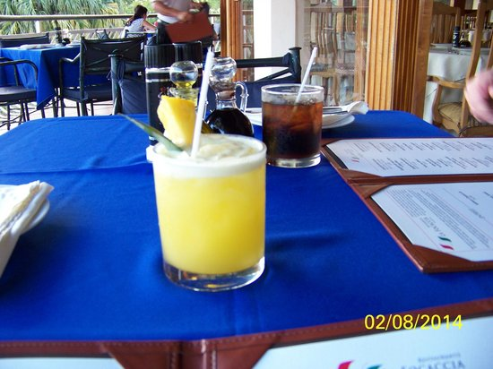 Resort Martino Boutique Hotel & Spa : Dining room drinks