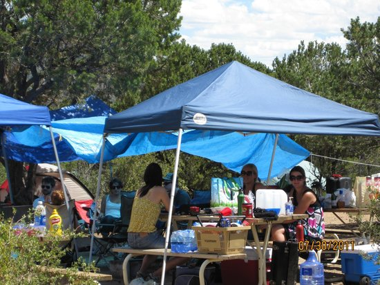 Arrowhead Point Campground & Cabins : Family reunion