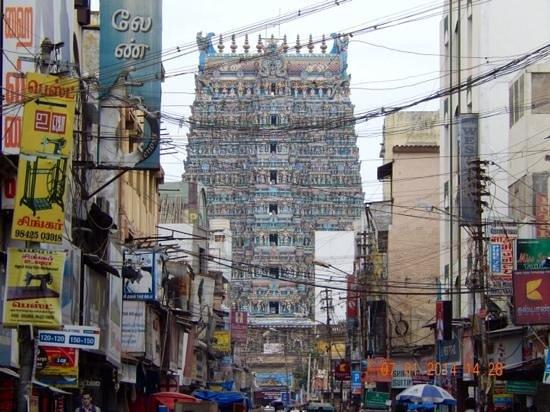 Madurai Inhabitants: The Meenakshe Temple