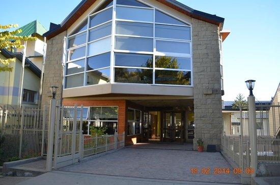 Hotel Patagonia Sur: Frente del hotel