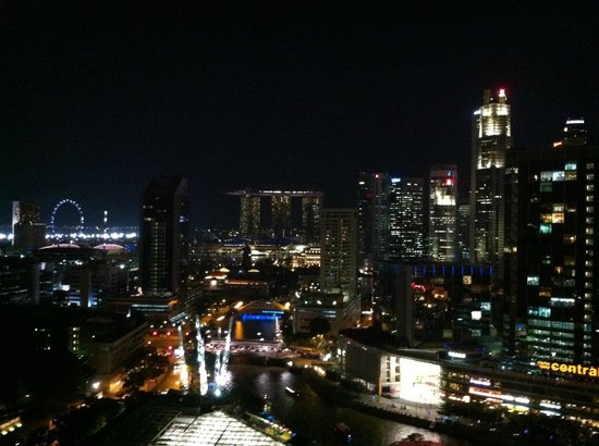 Novotel Singapore Clarke Quay : View from the Premier Lounge