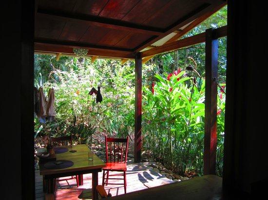 Hotel bungalows SolyLuna los Almendros. : our private deck
