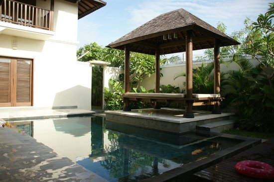 Lalasa Villas : Private pool + relax daybed