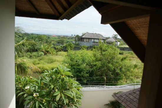 Lalasa Villas: View of surroundings from balcony upstairs