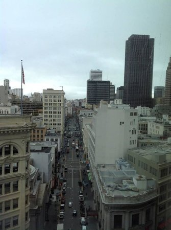 Four Seasons Hotel San Francisco: View from my room