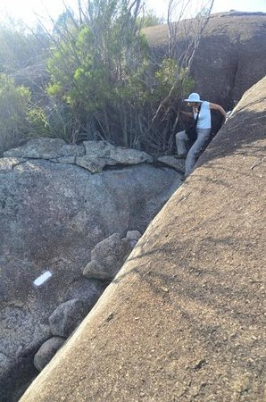 Girraween National Park: Heading down from Castle Rock
