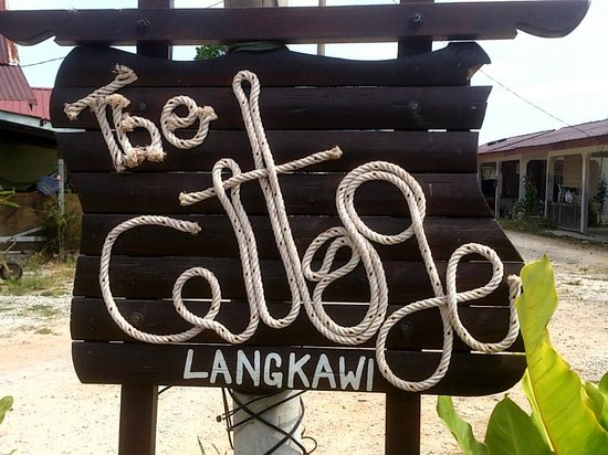 The Cottage Langkawi: The Signboard look cool