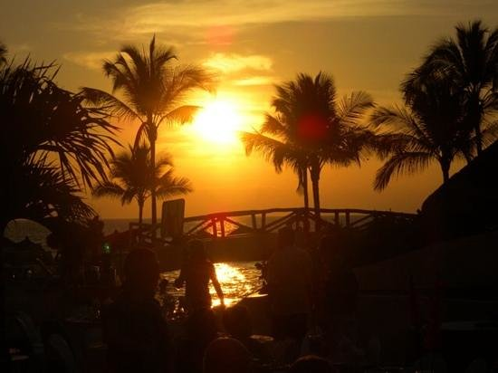 Marival Resort & Suites : sunset at Marival